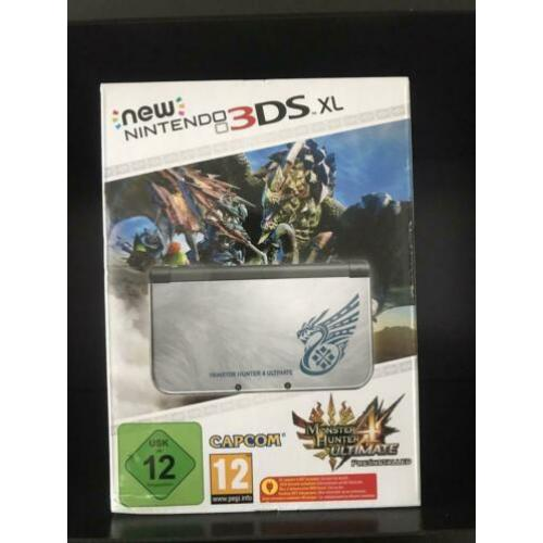 New 3ds xl monster hunter edition special limited doos cib
