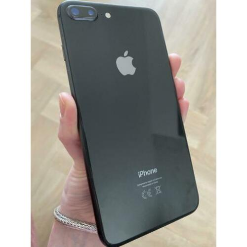 iPhone 8 plus zwart, 64GB