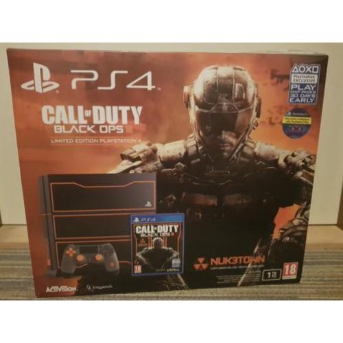 Playstation 4: 1TB Black Ops 3 Limited Edition